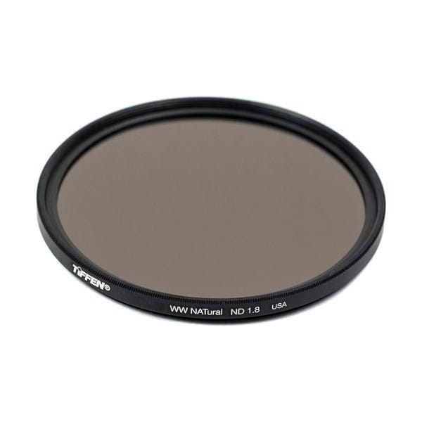 Tiffen 55mm Water White Glass NATural IRND 1.8 Filter - 6 Stop