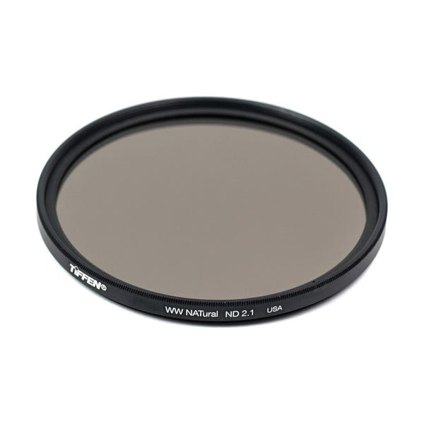Tiffen 72mm Water White Glass NATural IRND 2.1 Filter - 7 Stop