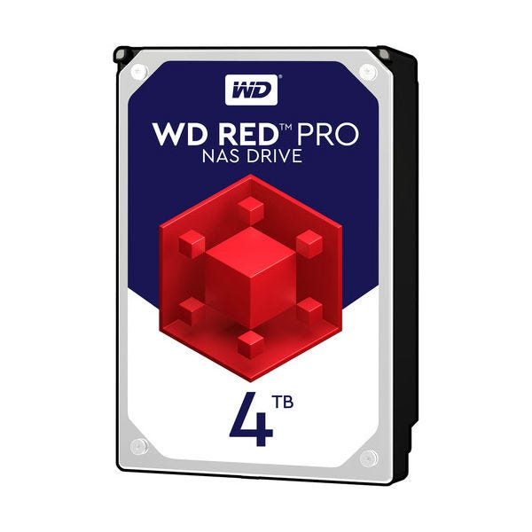 WD Red Pro 4TB NAS HDD SATA 7200 rpm