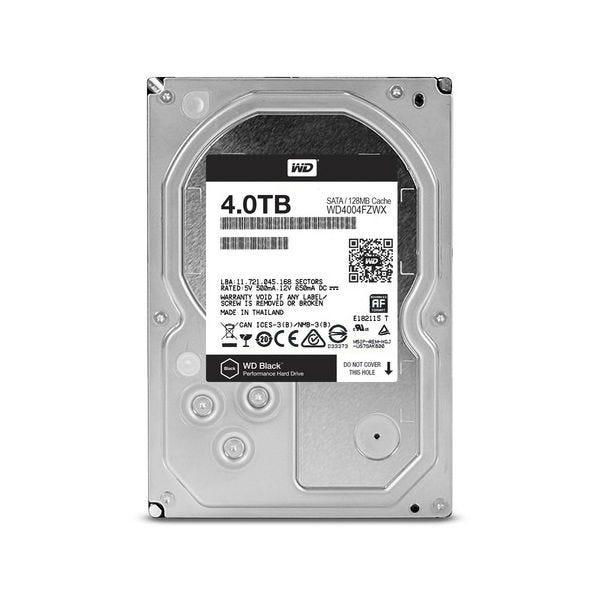 WD Black 4 TB 3.5-inch Performance Hard Drive - SATA - 7200r