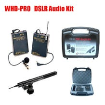 Azden WHD-PRO Wireless VHF Lavalier and SMX-10 Shotgun Kit