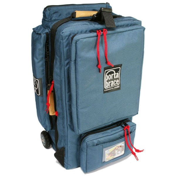 Porta Brace Wheeled Production Case - Small, Signature Blue
