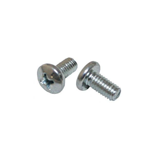 "Wood's Powr-Grip 10-32 x 3/8"" Machine Screw for 3 x 6"" Oval Concave Vacuum Pad"