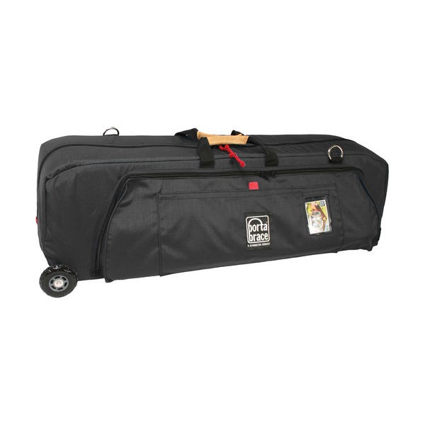 Porta Brace Wheeled Run Bag - Midnight Black