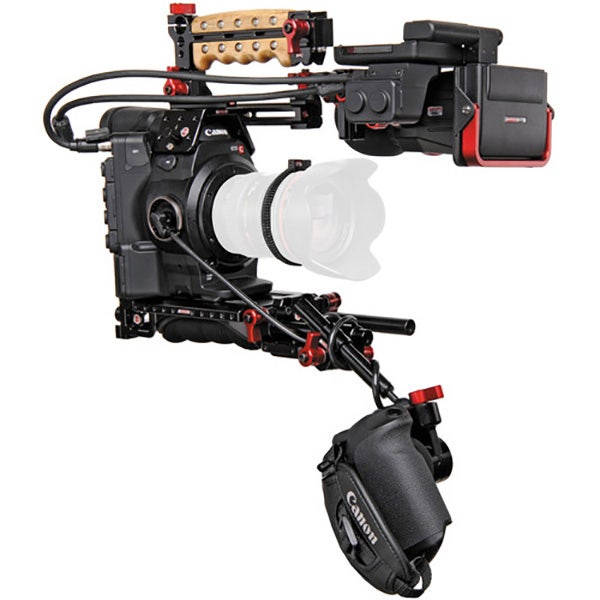 Canon EOS C300MK II with Zacuto Z-Finder Kit