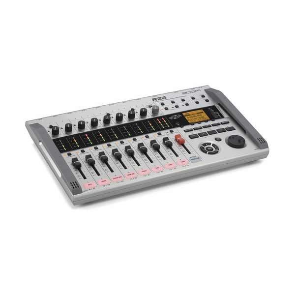 Zoom R24 Portable Multi-Track Digital Audio Mixer / Recorder / Interface / Sampler