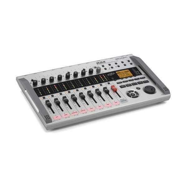 Zoom R24 Portable Multi-Track Digital Audio Mixer / Recorder / Interface / Sampler