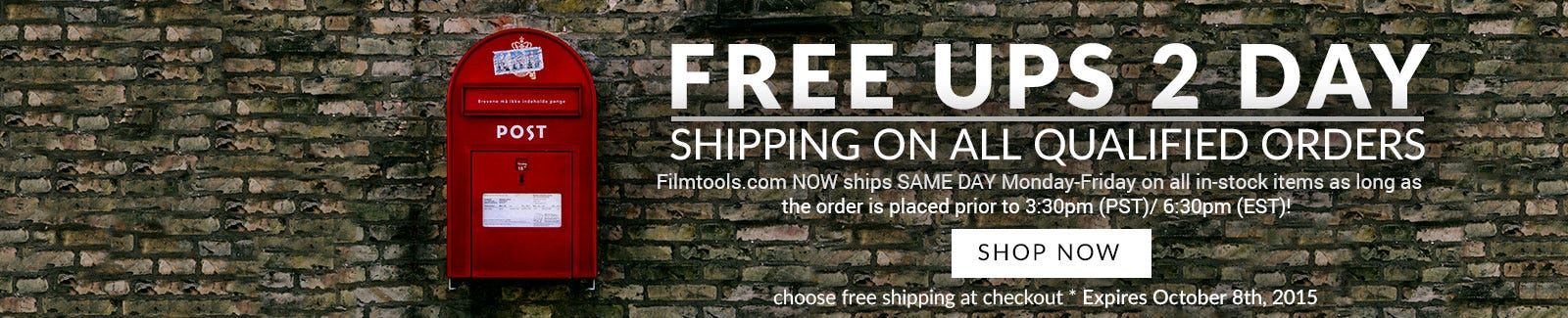 Free 2 Day Shipping