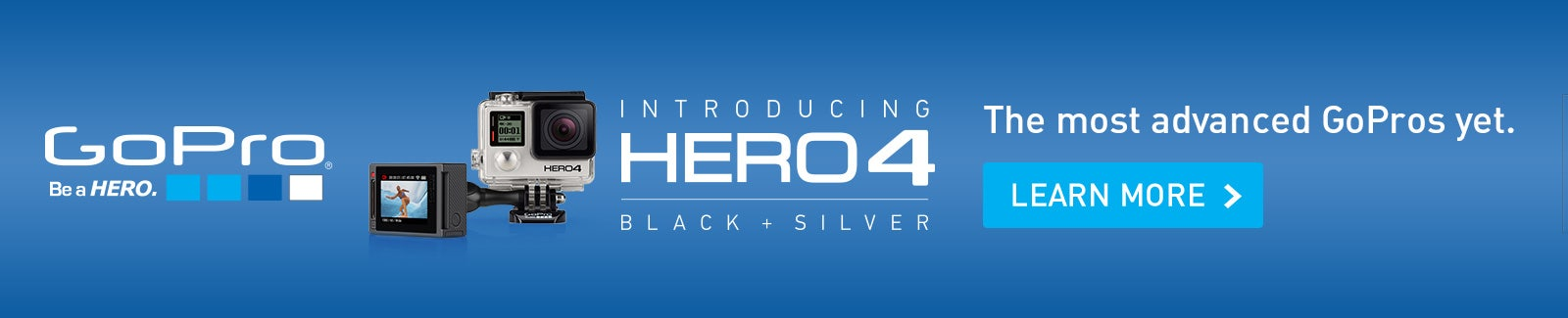 GoPro HERO4 Black and Silver Launch