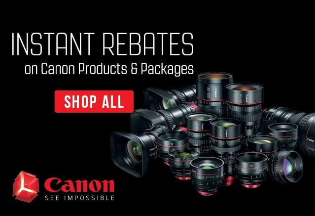 Canon Rebate Program