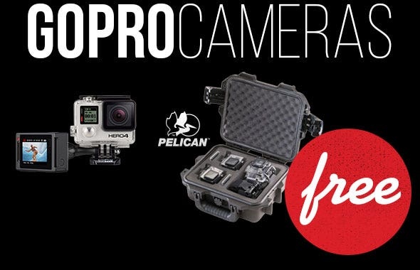 GoPro HERO4 with Free Case