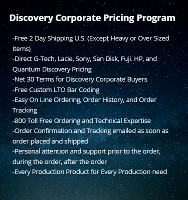 Discovery corporate pricing program