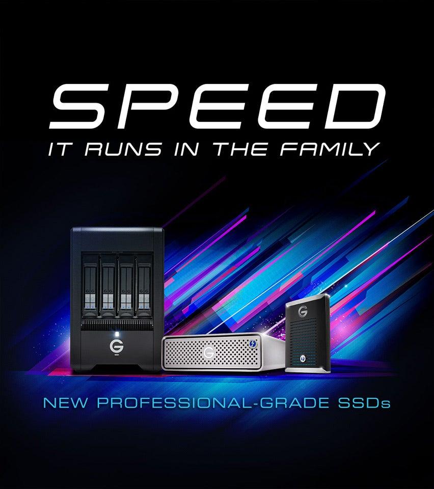G-Tech SSD Line Up