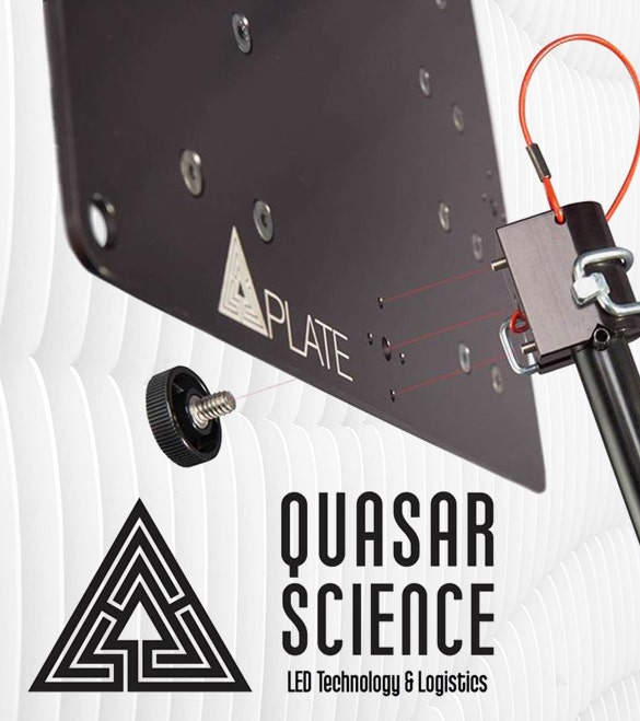 Quasar Plates for Q-LEDs