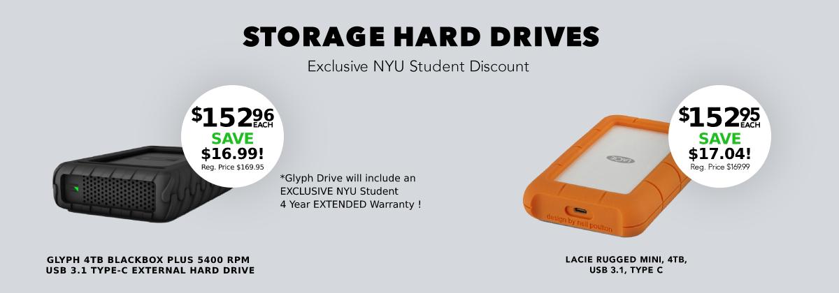 Storage Hard Drives